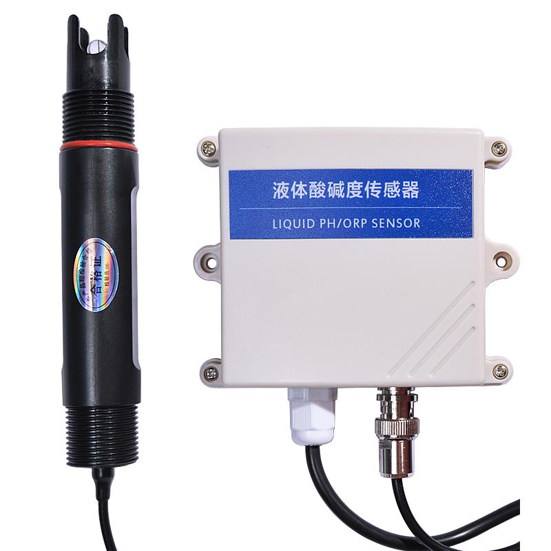 485型液体PH酸碱度传感器变送器